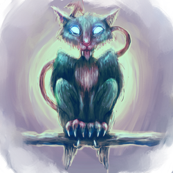 Catgoyle by Whobleyh