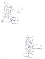Sonic Generations Tails by teniuq4444