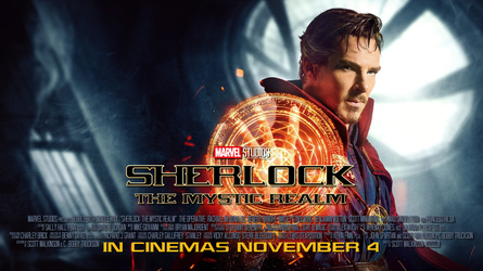 Sherlock: The Mystic Realm by Kirby-Force