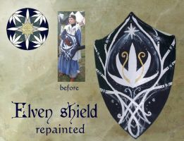 Elven shield by Anylon