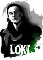 Magic Marvel - LOKI by Mad42Sam