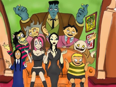 The Addams family by Punky88