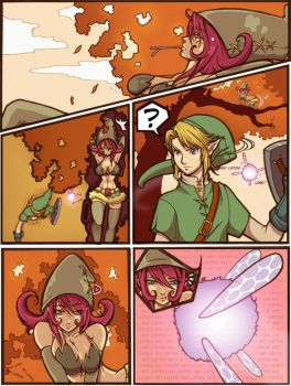 Afge meets Link Comic page by SoyUnGnomo