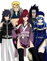 Team Fairy Tail cap 303 by juli95
