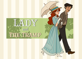 Lady and the Tramp by TitanicGal1912