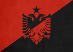 Flag of Anarcho-Hoxhaism by MaxStrass