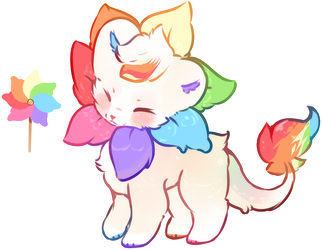{closed} sketch design: Pinwheel lion $1 SB by VioletCascade
