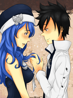 gray x juvia by invaderk8