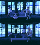 [MMD] Pokemon- WAVE (pose sets) by Gameaddict1234