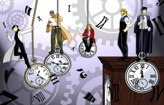 Nothing but time... by Nogojo