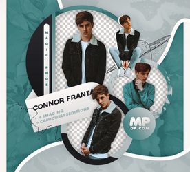 PACK PNG 812|CONNOR FRANTA by MAGIC-PNGS