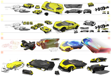 Sketchup Corvette Model by Pixel-pencil