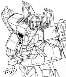 Thundercracker by Optimus8404