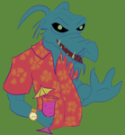 Uncle Deadly On Vacation by ObscureStar