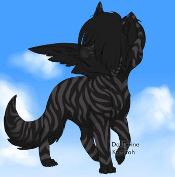 dark angel dog by emowolfgirl999