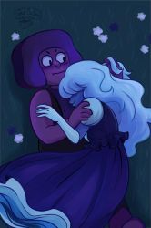 Ruby and Sapphire by Lemna