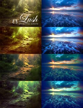 Lush photoshop actions by EliseEnchanted