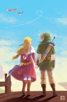 Zelda: Skyward Romance by finni