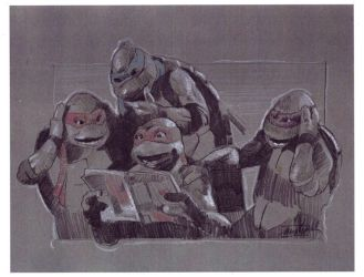 TMNT Sketch by nachomolina