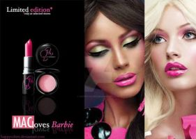 Mac Cosmetics Mac Loves Barbie by happycolors