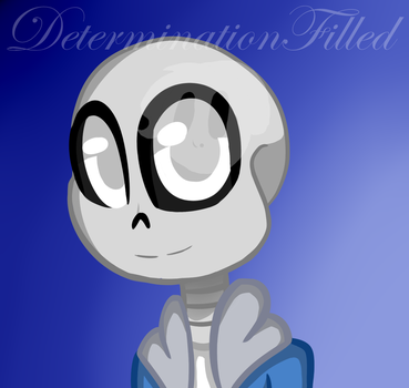 Skeleton by DeterminationFilled
