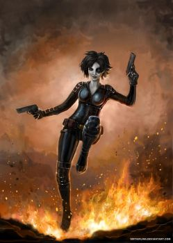 Domino by SirTiefling