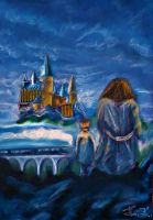Hogwarts will always be there to welcome you home by Fantaasiatoidab