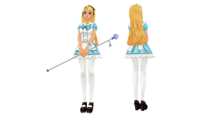 MMD Alice DL by UnluckyCandyFox