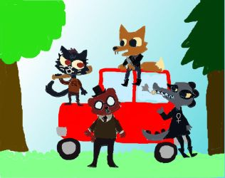 Night in the Woods by XoxInvaderLizxoX