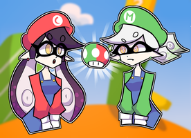 Super Squid Sisters by Bitter-Box