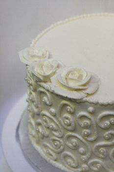 Caramel Cake with Meringue 3 by bittykate