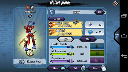 My first platinum mutant by Lightninglord24