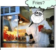 My life as a fry cook by katiefoss