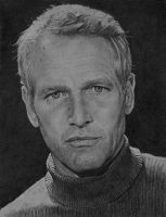 Paul Newman by ekota21