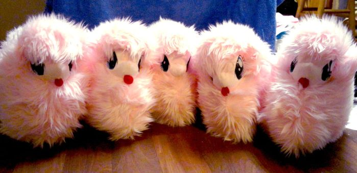 Fluffle Puff Plush Herd by Cryptic-Enigma