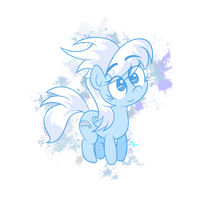 Lil' Cloudy by zapplebow