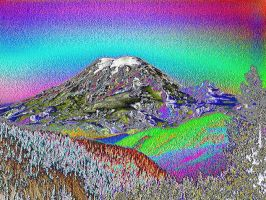 Tahoma From White Pass Rainbow by infin8yquest