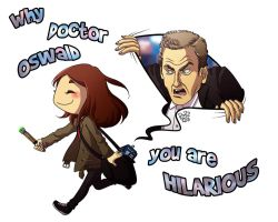 DW - Doctor Oswald by Rory221B