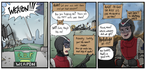Earth Defense Force: Priorities by TricksyWizard
