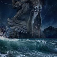 Cthulhu Rising by OliverInk