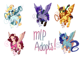 .:My Little Pony Adopts:. (3/5) OPEN by AdoptablesLiveHere