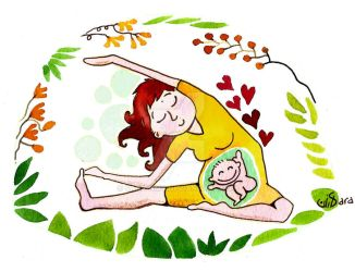 Yoga for Moms! by sara-nmt