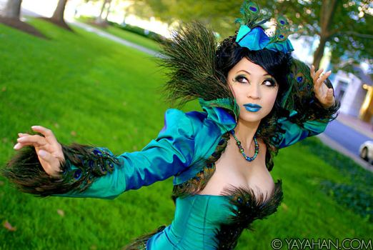 Original Design - Peacock by yayacosplay
