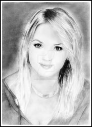 Virginie Efira by loic-drawing