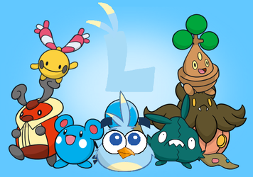 Luca's Pokemon Team by jared33