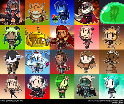 Chibi Compilation #10 by Dragonith