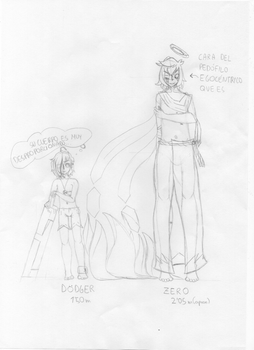 Dodger and Zero height comparision by The-7th-Demon