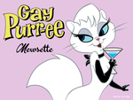 Gay Purr-ee Art Cards 1/3: Mewsette by Tim-Kangaroo