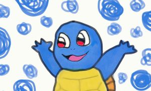 Squirtle yay -attempt by supahappysunshine