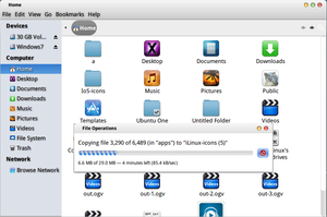 Mountain-Lion theme for unity+gnome-shell+cinnamon by haniahmed